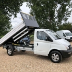 LDV V80 Tipper review